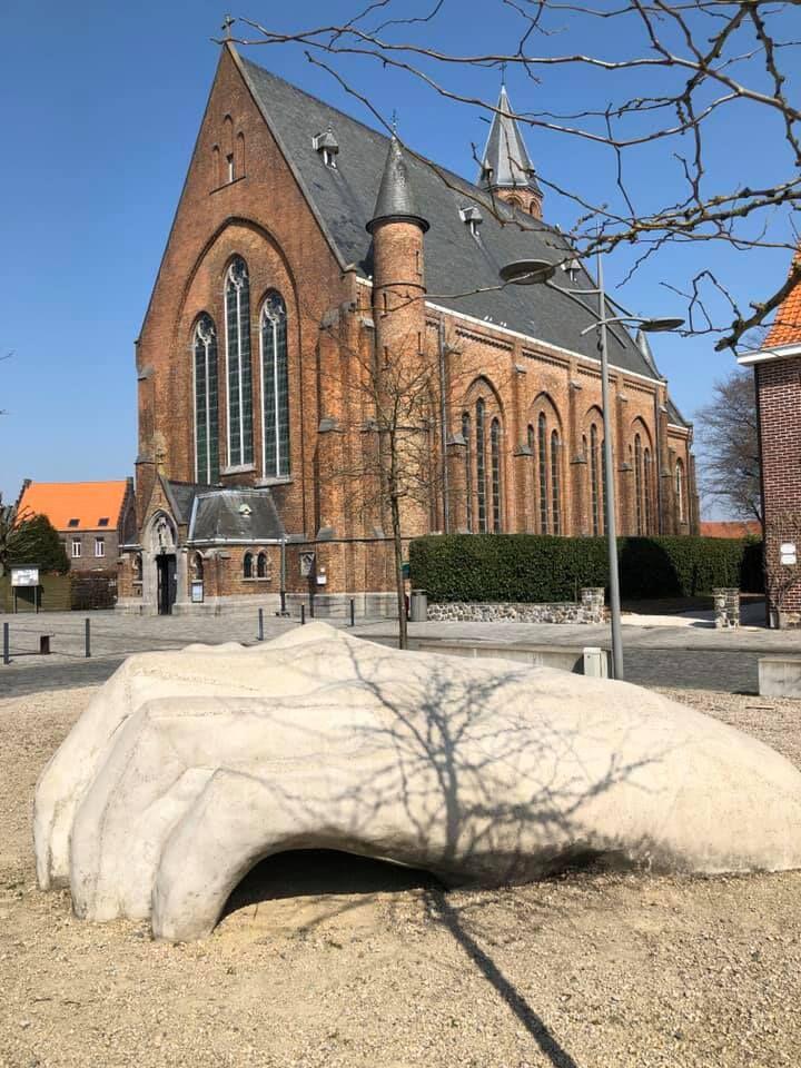Sint-Antoniuskerk in Balgerhoeke (Eeklo). © Jan Vermeire