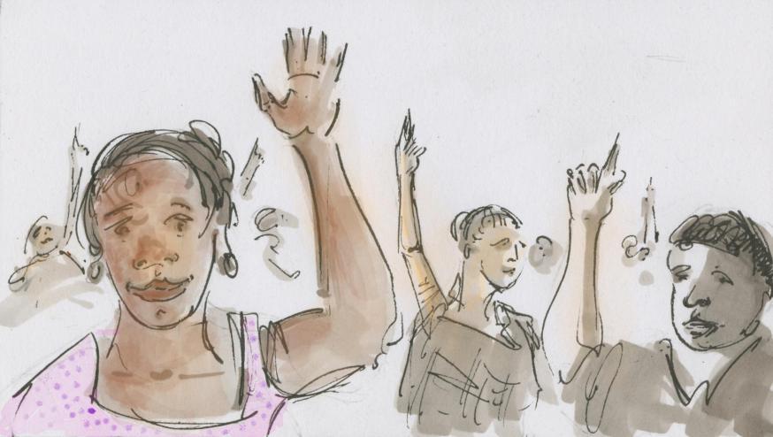 Jaa!! © Bisdom Gent, tekening: Koen Van Loocke