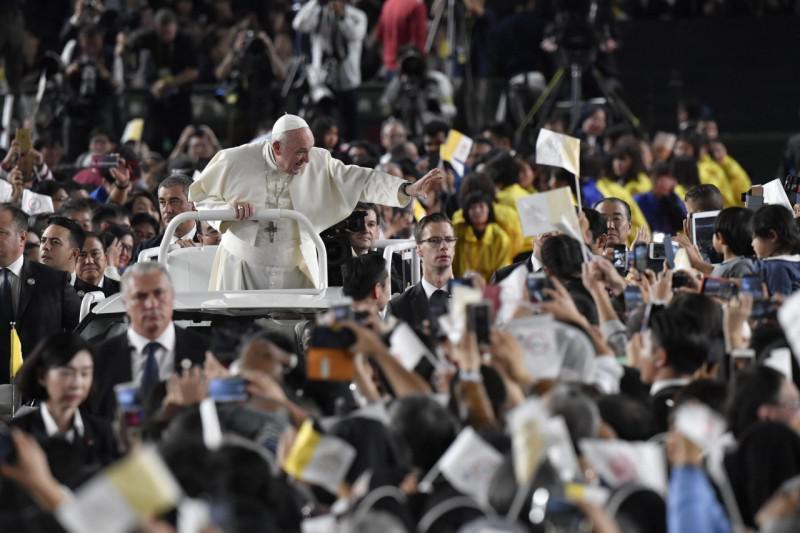 Paus Franciscus in Japan © Vatican Media