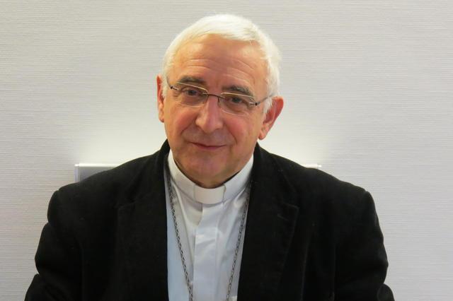 Mgr. Jean-Luc Hudsyn, hulpbisschop voor Waals-Brabant © IPID
