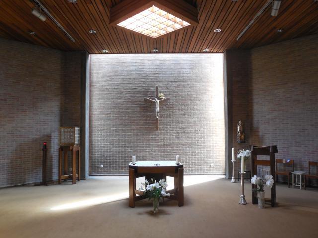 Kapel van het Johannes XXIII-seminarie in Leuven © Joris Polfliet