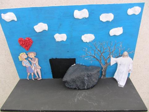 Jezus verrijst uit de dood © VISO Roeselare