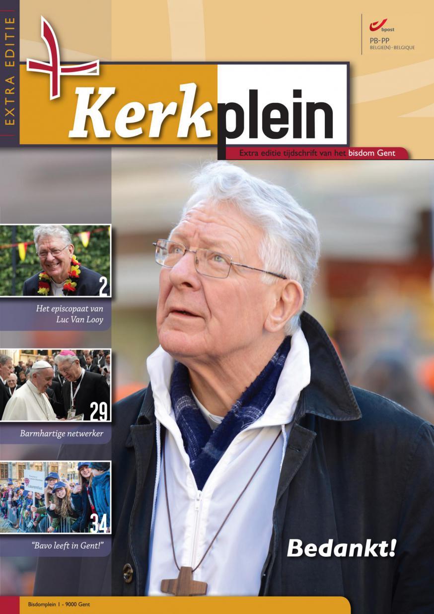 Extra editie Kerkplein © Bisdom Gent