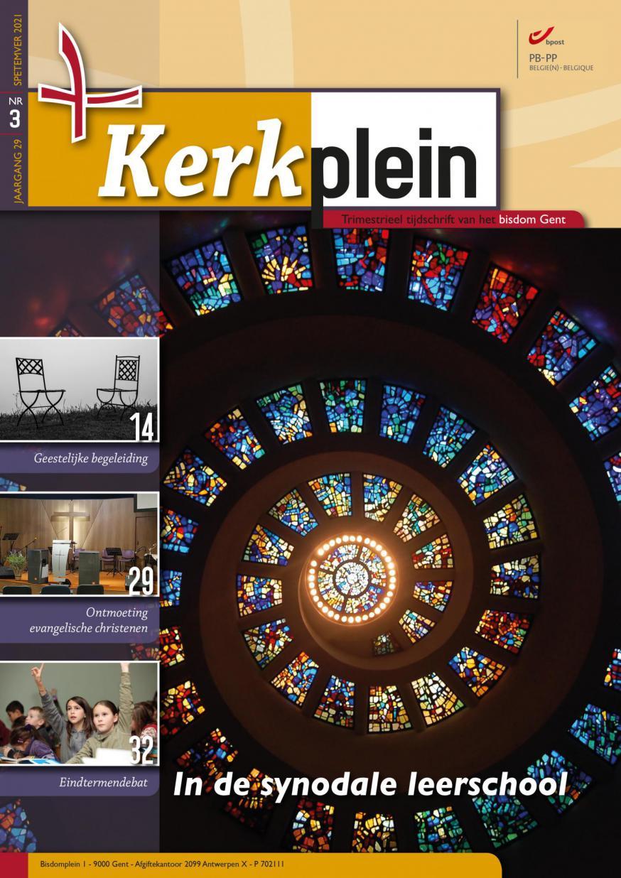 Kerkplein september 2021 © Bisdom Gent