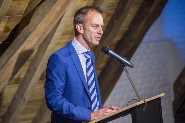 Voorzitter Dieter Van Belle © Bisdom Gent, foto: Frank Bahnmüller