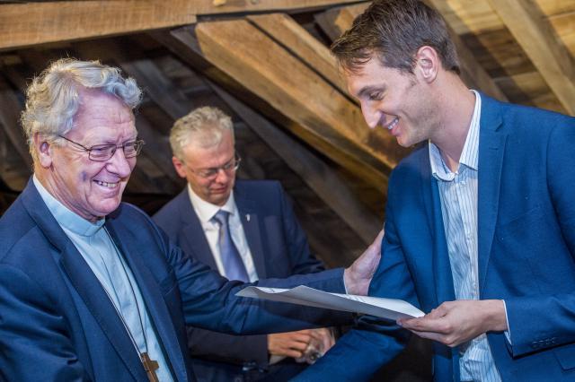 Diploma-uitreiking © Bisdom Gent, foto: Frank Bahnmüller