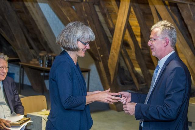 Kathleen Martens en Jürgen François © Bisdom Gent, foto: Frank Bahnmüller