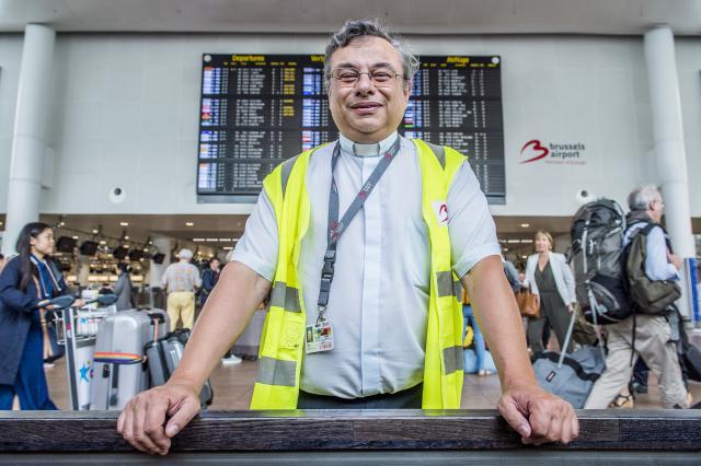 Luchthavenaalmoezenier Michel Gaillard © Frank Bahnmüller