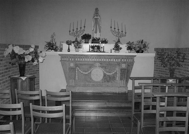 Binnenzicht Kloosterkapel Zaffelare © PM