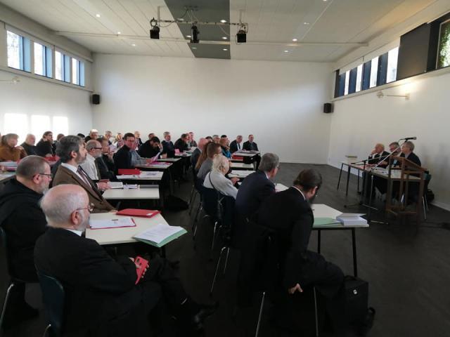 Op zaterdag 30 november 2019 vond in Hoepertingen de 53ste Ontmoetings- en Studiedag van de Katholieke Nationale Commissie voor Oecumene plaats © Michel Rongvaux