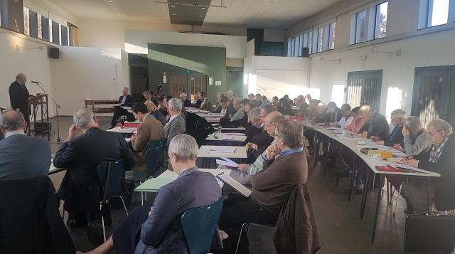 Op zaterdag 30 november 2019 vond in Hoepertingen de 53ste Ontmoetings- en Studiedag van de Katholieke Nationale Commissie voor Oecumene plaats © Etienne Quintiens