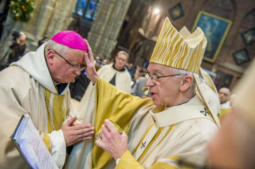 Bisschopswijding Lode Van Hecke © Bisdom Gent, foto: Frank Bahnmüller