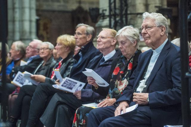 Familie van bisschop Van Looy © Bisdom Gent, foto: Frank Bahnmuller