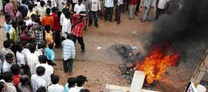 anti-christelijk geweld in Kandhamal © Kerk in Nood