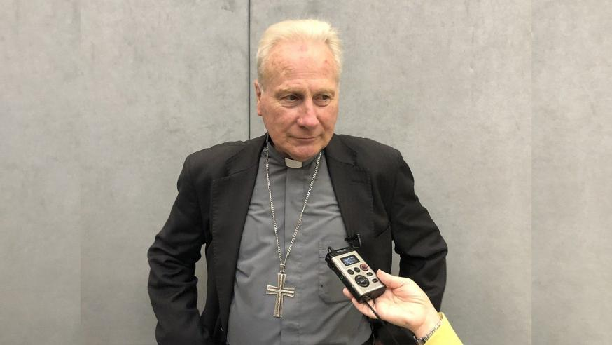 Aartsbisschop Michael Louis Fitzgerald werd vandaag zaterdag door paus Franciscus tot kardinaal gecreëerd © VaticanNews