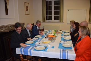 Vicariaat onderwijs op ontbijt met kardinaal De Kesel © Vicariaat onderwijs aartsbisdom Mechelen-Brussel