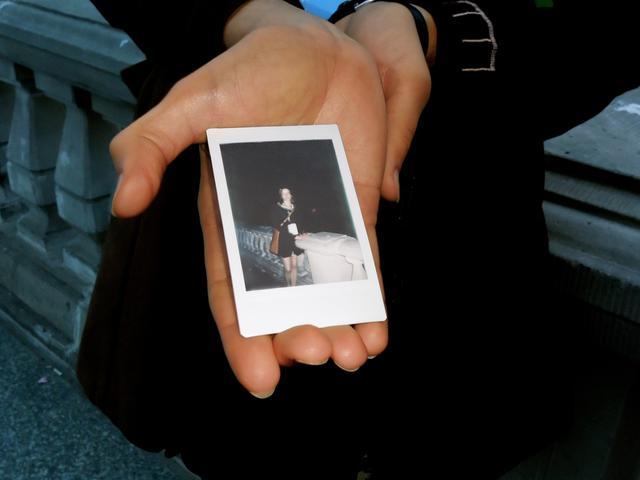 De polaroid van Kasia © IJD