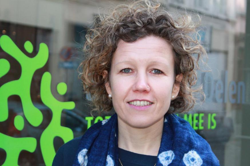 Katelijne Suetens, teamcoördinator politiek van Broederlijk Delen © Broederlijk Delen