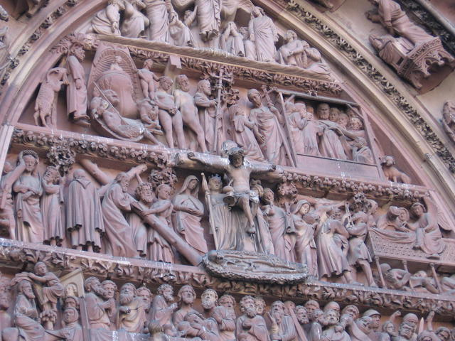 Kathedraal Straatsburg, Westportaal © J. Polfliet