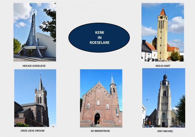 Bidplaatsen Kerk in Roeselare © Erna Nevejant