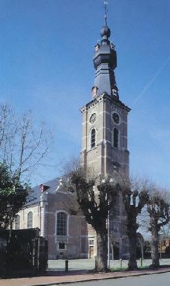 Kerk Hansbeke © www.nevele-parochies.be