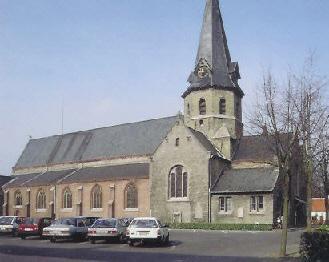Kerk Merendree © www.nevele-parochies.be
