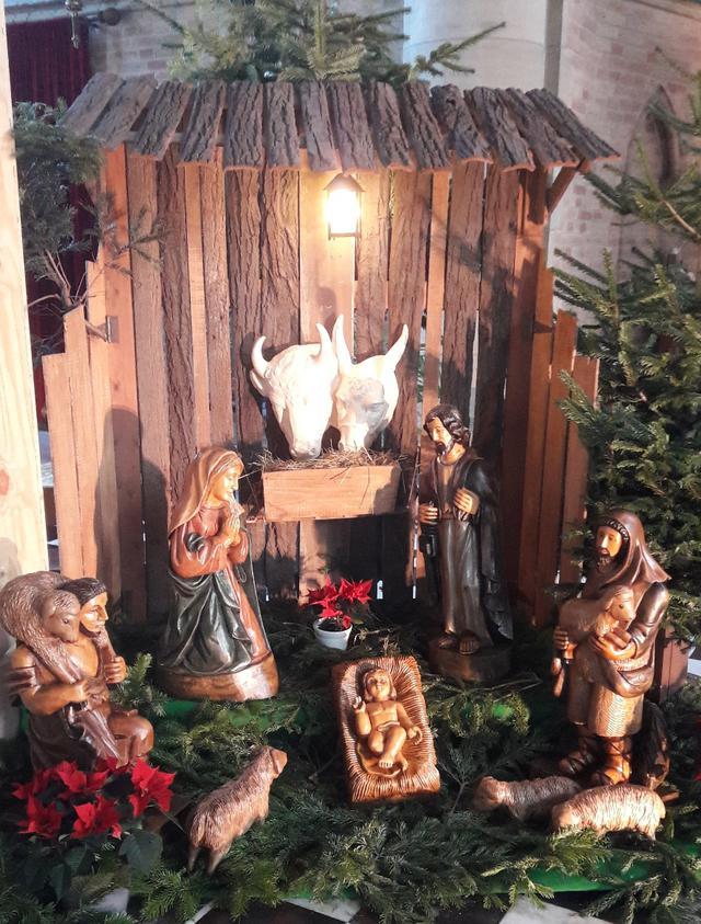 Kerststal kerk Diksmuide