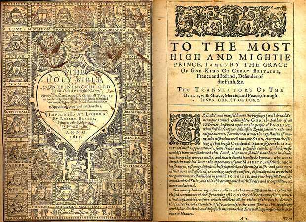 De King James Bijbel © Protestant Digital