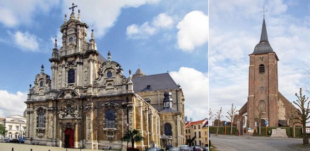 St.-Jan de Doper ten Begijnhofkerk in Brussel en de St.-Petruskerk in Kaster, de rode draad door hun vrijwilligersleven.