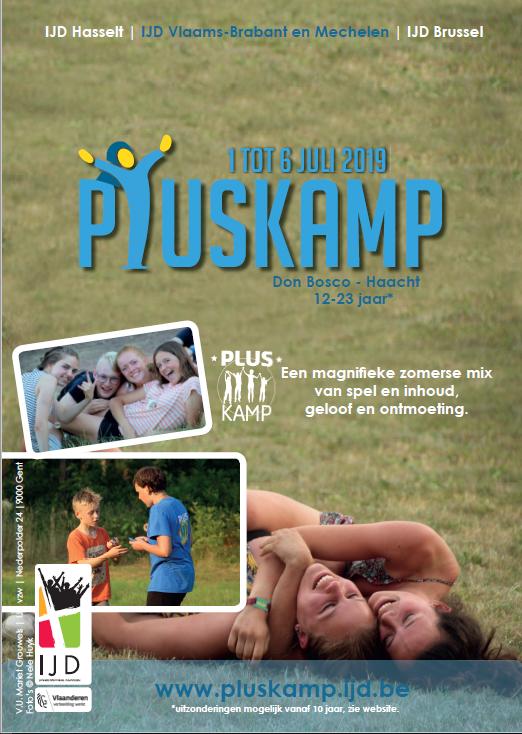 Pluskamp, waar je écht jezelf kan zijn! Het allerleukste kamp voor jongeren die zoekend zijn in geloof!