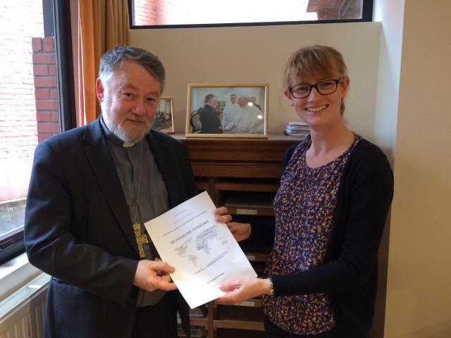 Mgr. Kockerols vertegenwoordigt de Belgische bisschoppen tijdens de jongerensynode. © IJD Jongerenpastoraal Vlaanderen