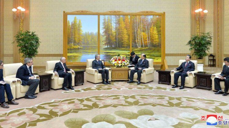 Delegatie van Sant'Egidio op bezoek in Noord-Korea © Vatican Media
