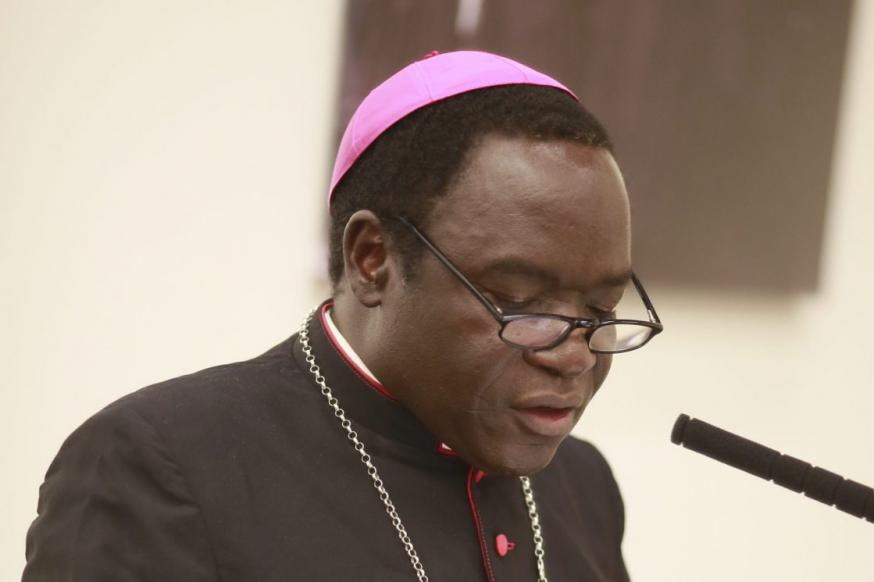 Bisschop Matthew Hassan Kukah van Sokoto  © Kerk in Nood