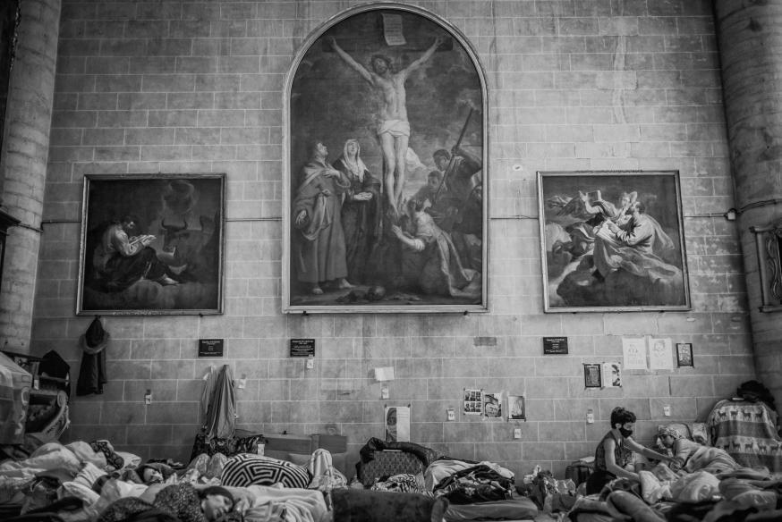 Getuigen van geloof - Begijnhofkerk Brussel © Leo De Bock