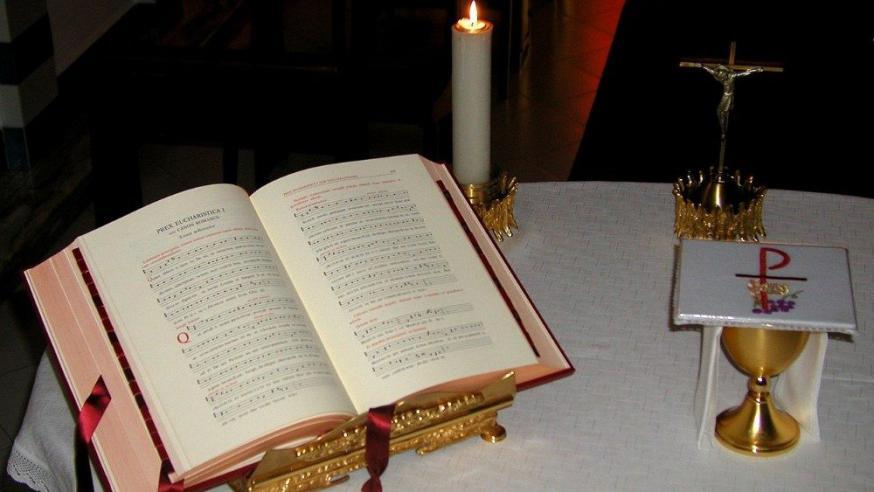 Latijnse missaal © VaticanMedia