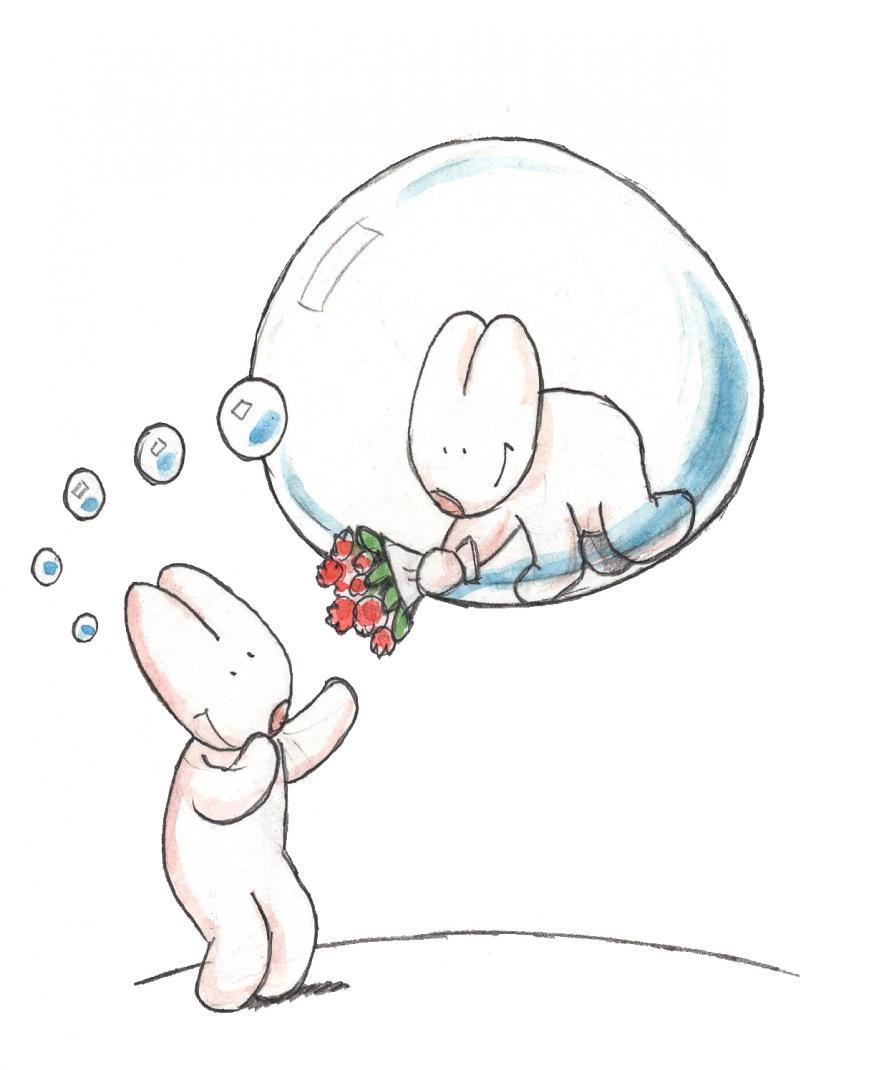 Liefde is: beseffen dat je veel geschonken wordt © IDGP vzw, cartoon getekend door Joris Snaet