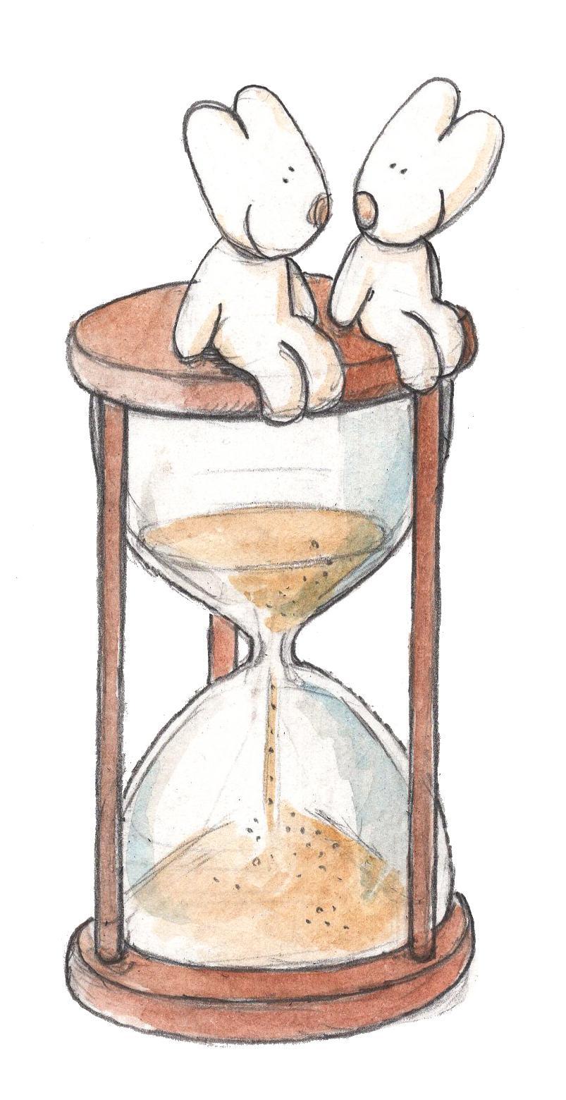 Liefde is: geduldig zijn © IDGP, cartoon getekend door Joris Snaet