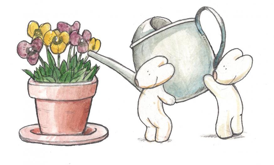 Liefde is: vriendelijk zijn © IDGP vzw, cartoon getekend door Joris Snaet