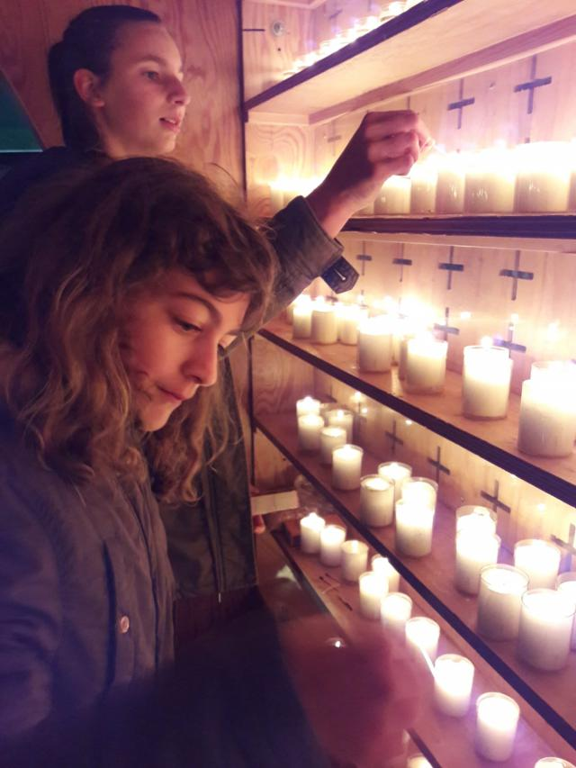 Activiteit van Inspirelli Turnhout: light a candle