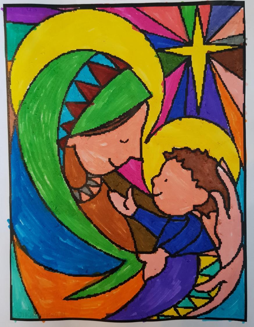 Kleurplaat van Liselotte DW (10 jaar)