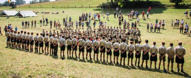 De Lod Lavki scouts uit Hasselt © Lod Lavki Hasselt