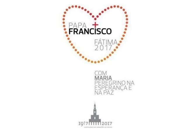 Logo van het pausbezoek © Fatima