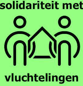 logo solidariteit met vluchtelingen
