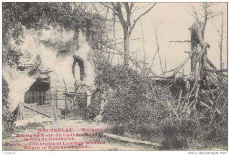 Lourdesgrot Houthulst 1919