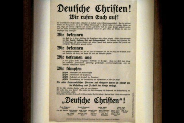 Luther wordt schaamteloos gerecupereerd © Philippe Keulemans/Museum voor kloostercultuur