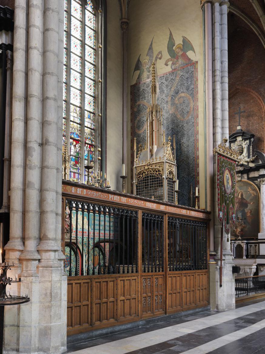 Machariuskapel © Sint-Baafskathedraal Gent, www.artinflanders.be, een initiatief van meemoo, foto's Hugo Maertens.