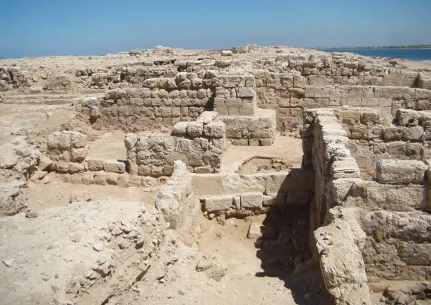 De ruïnes van de basiliek in Marea © flickr/Instituut voor de studie van de antieke wereld