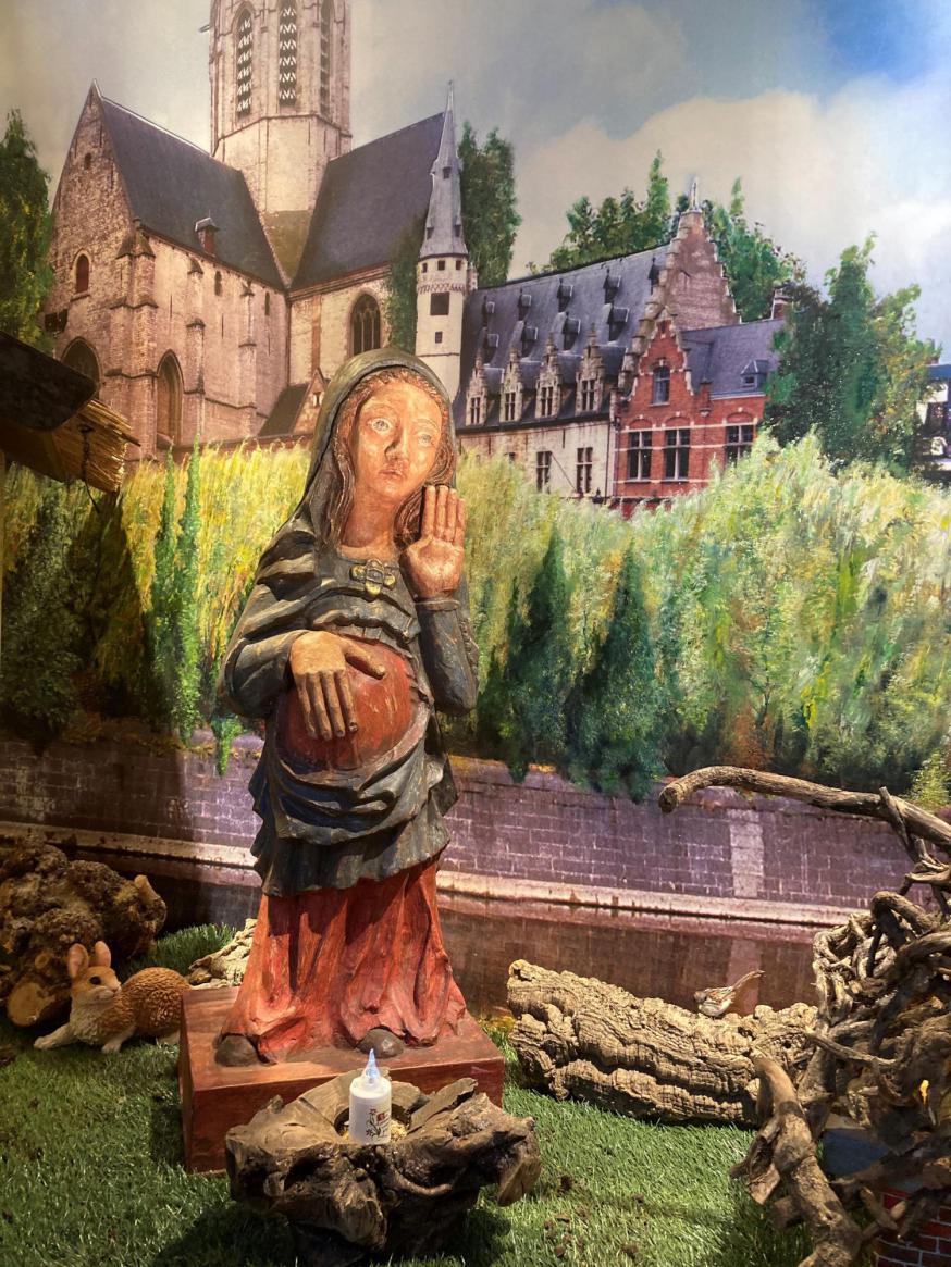 Kerstlandschap abdijkerk Dendermonde © Bisdom Gent