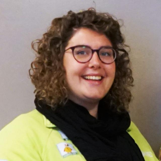 Mariet Grouwels, stafmedewerker bij IJD Hasselt.