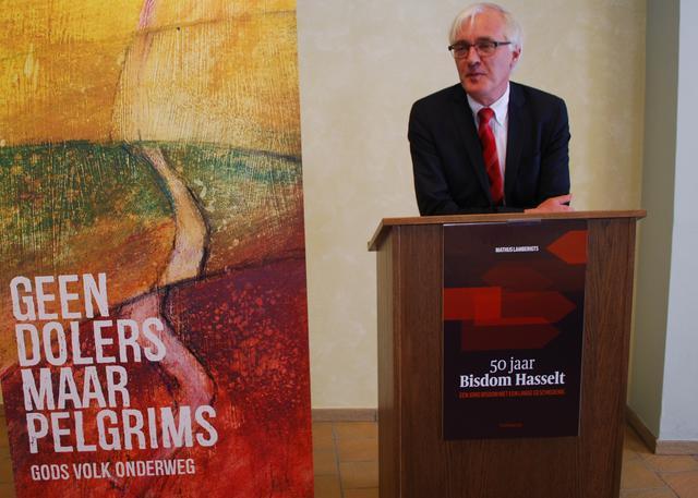 Prof. Mathijs Lamberigts, auteur van de jubileumboek  © Filip Ceulemans